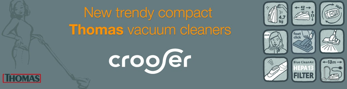 New trendy compact  Thomas vacuum cleaners