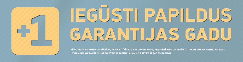Garantija +1